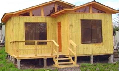 Viviendas prefabricadas chilenas casas urbimar - Legislacion casas madera ...