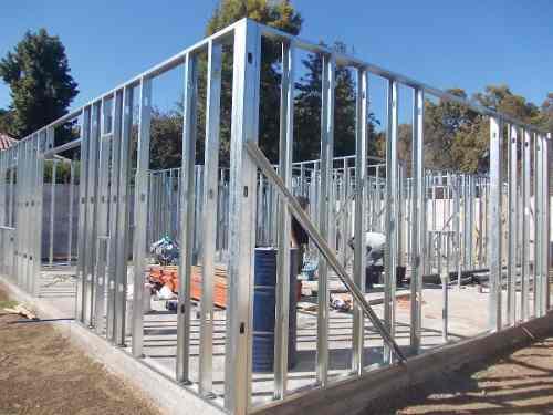 estructura de acero galvanizado